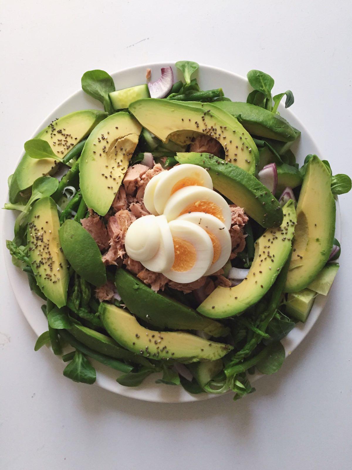 Tonijnsalade | Superlekker, snel en eenvoudig om te maken.