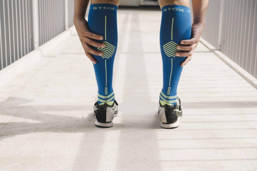 wouter van aalst, personal trainer, stop, hardlopen, compressie sokken
