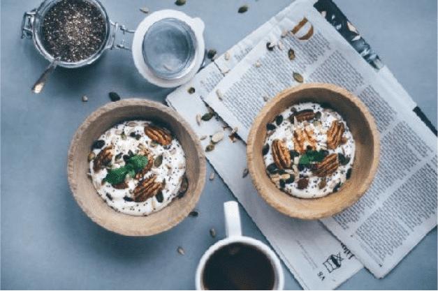 Gezond en luchtig ontbijt recept | Kwark met pecannoten, ontbijt recept, wouter van aalst, nijmegen, wouter van aalst personal training.